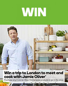 Competitions promotions woolworths win a trip to meet jamie oliver negle Image collections
