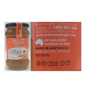 Deliciously Free Moist Chocolate Mud Cake Mix Recall
