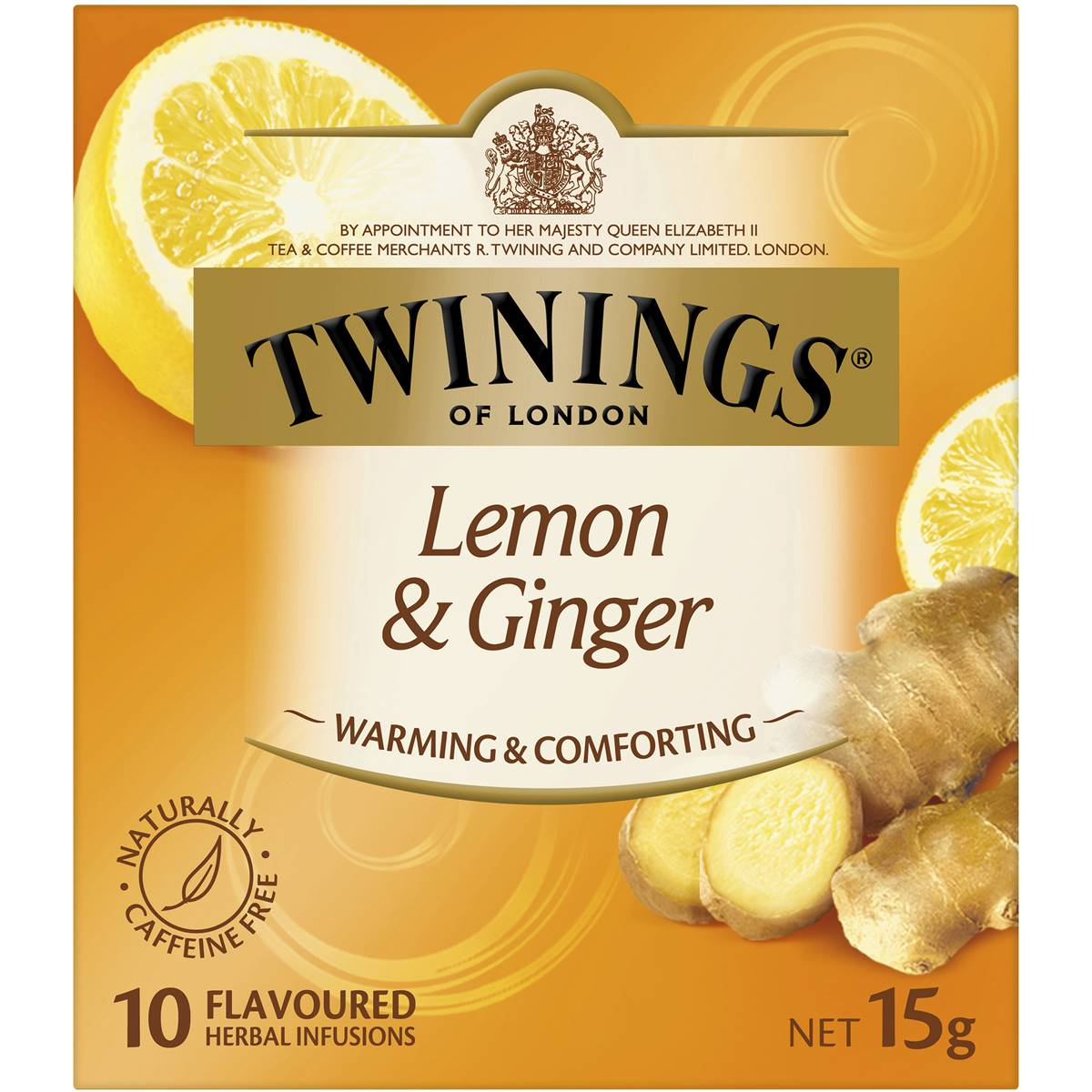 Image result for lemon and ginger twinings tea