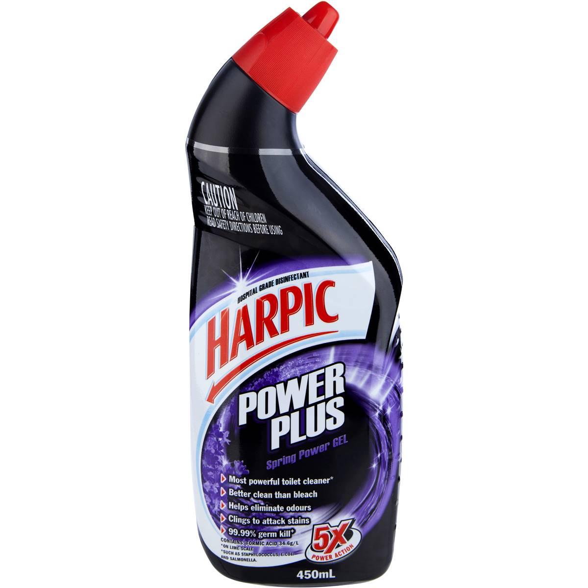Harpic Power Plus Toilet Cleaner Spring Power Woolworths